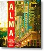Alma Metal Print