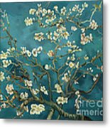 Almond Blossoms' Reproduction Metal Print