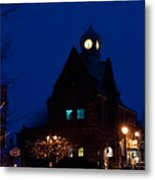 Almonte Ontario At Night Metal Print