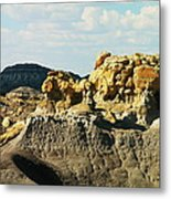 Almost Moonscape Metal Print