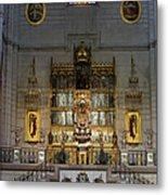 Almudena Cathedral Altar Metal Print