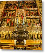 Almudena Cathedral Metal Print
