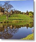 Alnwick Castle Panorama Metal Print