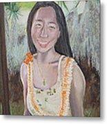 Aloha Jade Metal Print