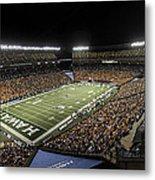 Aloha Stadium Night Game Metal Print