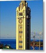 Aloha Tower Metal Print