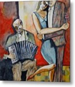 Alone And Together Metal Print