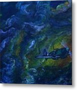 Alone In The Clouds Metal Print