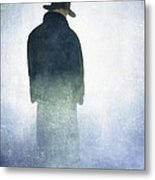 Alone In The Fog Metal Print by Gun Legler