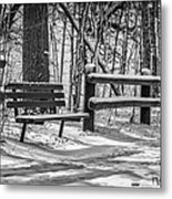 Alone In Your Thoughts Metal Print