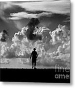 Alone Metal Print by Stelios Kleanthous