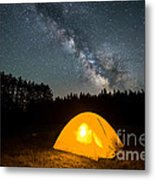 Alone Under The Stars Metal Print