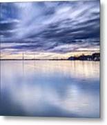 Alone With My Camera Metal Print