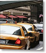 Along Grand Central Metal Print