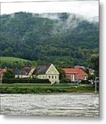 Along The Blue Danube Metal Print