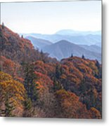 Along The Blue Ridge Parkway  N C Metal Print