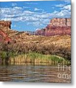 Along The Colorado River Metal Print
