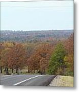 Along The Country Highway 1 Metal Print