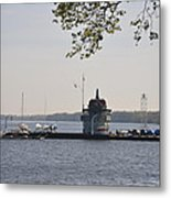 Along The Delaware River In New Jersey Metal Print