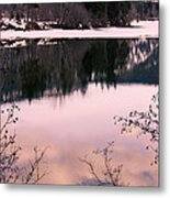 Along The North Thompson Metal Print