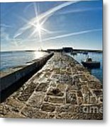 Along The North Wall Metal Print