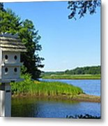 Along The Taunton River Metal Print