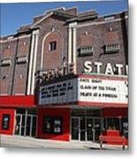 Alpena Michigan - State Theater Metal Print