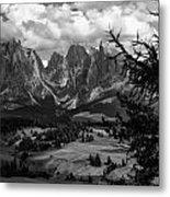 Alpes IIi Metal Print