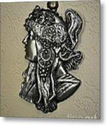 Alphonse Mucha 1860-1939 New Profile Metal Print