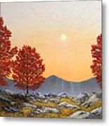 Alpine Meadow II Metal Print
