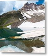 Alpine Reflection In The San Juans Metal Print