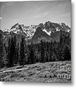 Alpspitze Till Zugspitze II Metal Print