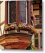 Alsace Window Metal Print