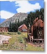 Alta In Colorado Metal Print