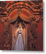 Altar And Madonna Metal Print