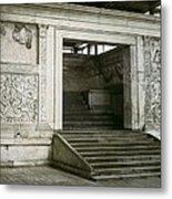 Altar Of Peace Of Augustus. 13 Bc Metal Print