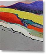 Altered Landscape Metal Print