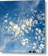 Altocumulus Clouds Metal Print