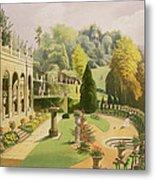 Alton Gardens Metal Print