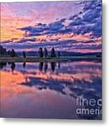 Alum Creek Sunrise Metal Print