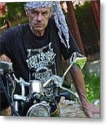 Always Free Like A Wind -  Easy Dream Rider. Metal Print by  Andrzej Goszcz