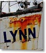 Alynn Metal Print by Mamie Gunning