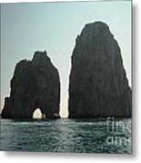 Amalfi Horizon Metal Print