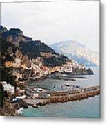 Amalfi Italy Metal Print
