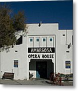 Amargosa Opera House Death Valley Img 0021 Metal Print