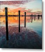 Amazing Bay Metal Print