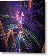 Amazing Beautiful Fireworks Metal Print