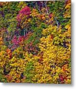 Amazing Cloudland In The Fall Metal Print