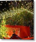 Amazing Christmas Lights Metal Print