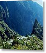 Amazing Colors Mountains Metal Print